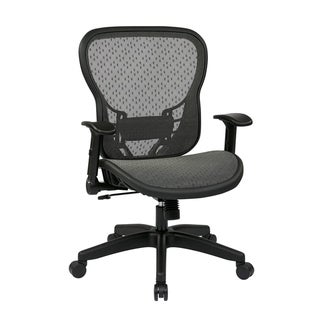 Deluxe R2 SpaceGrid® Back and Seat with Flip Arms