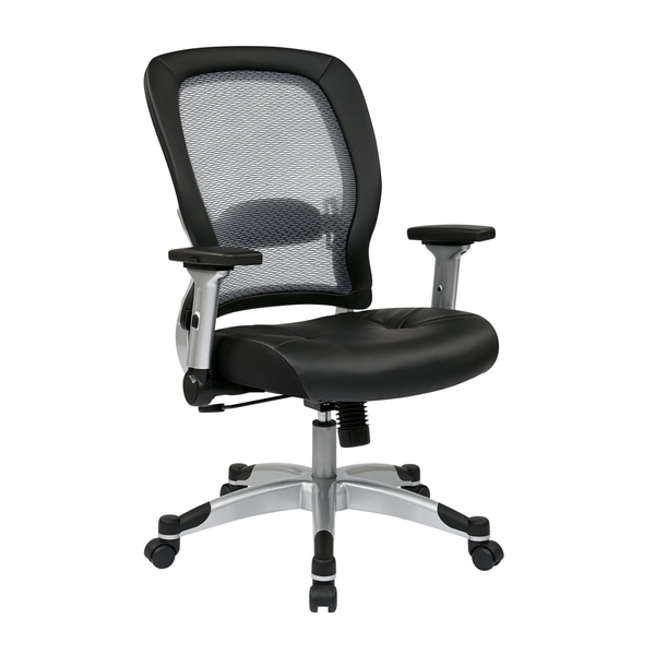 Professional Light Bonded Leather Seat Office Chair