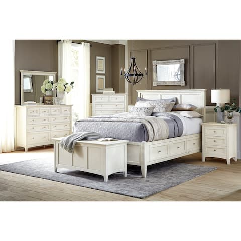 Simply Solid Loomis Solid Wood 7-piece Bedroom Collection