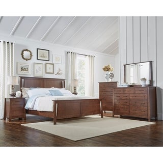 Simply Solid Galvan Solid Wood 5-piece Bedroom Collection