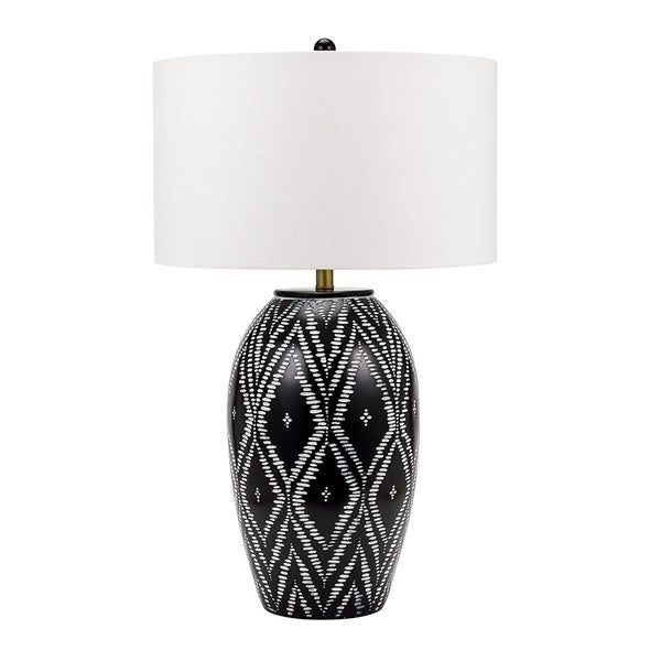 Eclectic Tribal Ikat Patterned