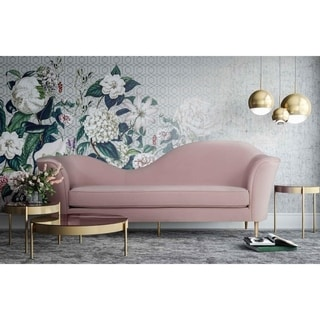 Link to Plato Blush Velvet Sofa Similar Items in Sofas & Couches