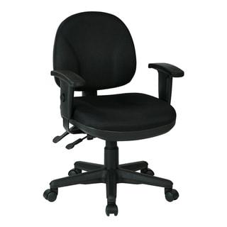 Work Smart Sculptured Ergonomic Managers Chair
