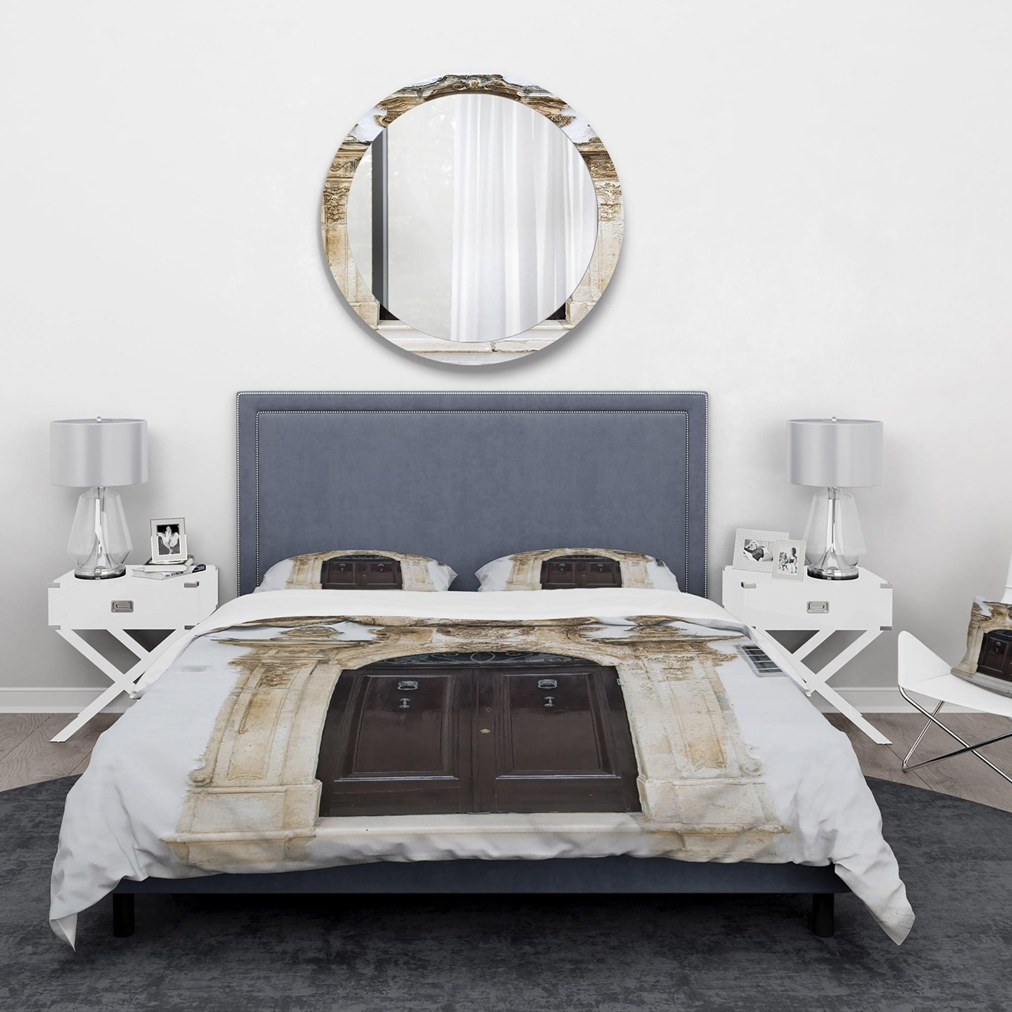 Designart Old Door Bari Italy Vintage Bedding Set Duvet Cover Shams On Sale Overstock 24240422