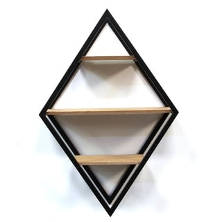 Link to Stratton Home Decor Diamond Shelf Wall Decor Similar Items in Accent Pieces