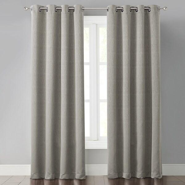 Foster Beige Light Blocking Panel Curtains