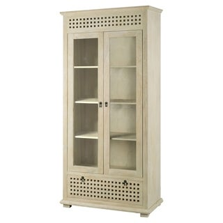 Mercana Lawson Beiege Wood Cabinet