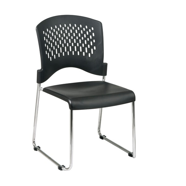 Sled Base Stack Chair (Set of 2)