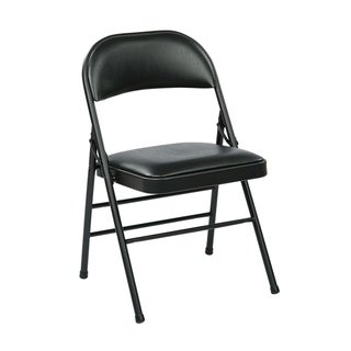 Link to Folding Chair with Vinyl Seat and Back Similar Items in Office & Conference Room Chairs