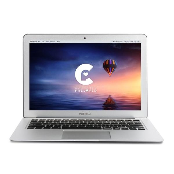 Apple 13.3-inch Macbook Air MMGF2LL/A DCi7 2.2GHz 8GB RAM 128GB Flash - Certified Preloved