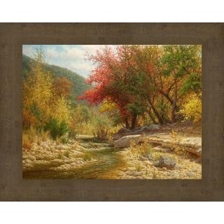 Sunny Autumn Framed Canvas Wall Art