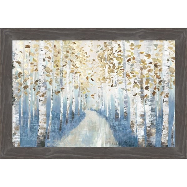 Shop Canvas Art Framed \'New Path I\' by Allison Pearce: Outer Size 27 ...