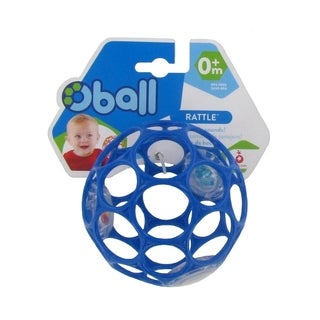 Oball With Rattle Toy - 4 Inch