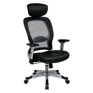 Professional Light Bonded Leather Seat Chair with Headrest