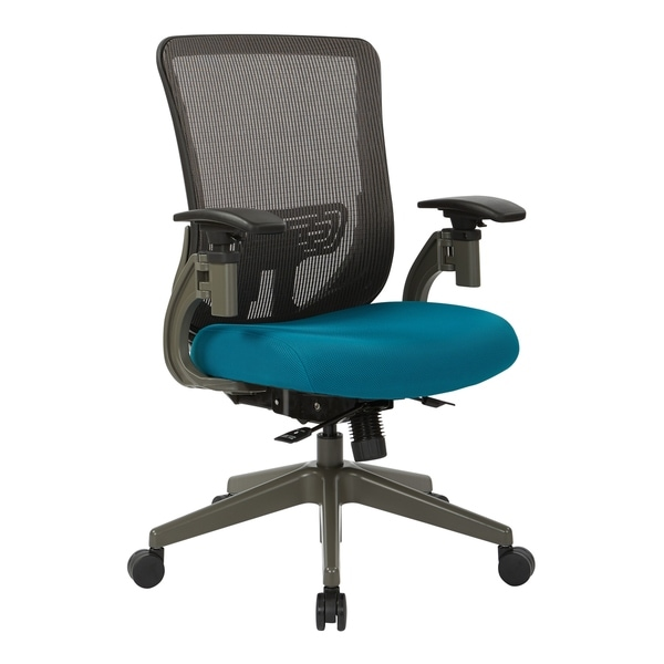 Grey Vertical Mesh Office Chair