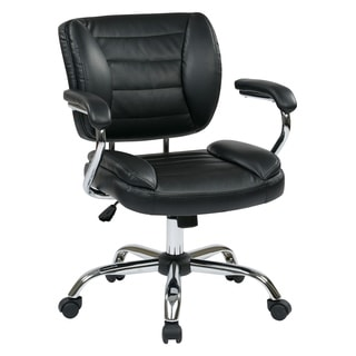 Work Smart Task Chair Faux Leather