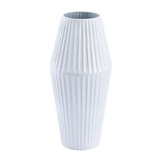 Carson Carrington Small Metal White Vase