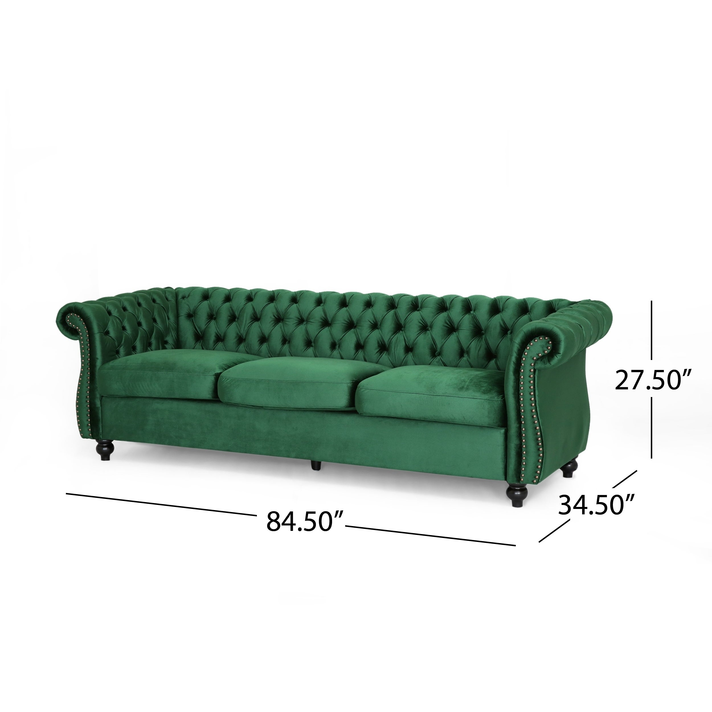 Super Somerville Chesterfield Tufted Jewel Toned Velvet Sofa With Scroll Arms By Christopher Knight Home Onthecornerstone Fun Painted Chair Ideas Images Onthecornerstoneorg