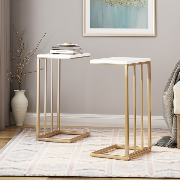Baywinds Modern C Side Table (Set of 2) by Christopher Knight Home. Opens flyout.