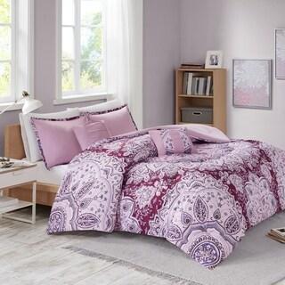 Intelligent Design Carissa Berry Printed Comforter Set