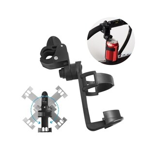 Stroller Cup Holder/ Bike Cup Holder, INSTEN 360 Degree Rotation Secure Drink Holder for Universal Baby Stroller/Bike/Wheelchair