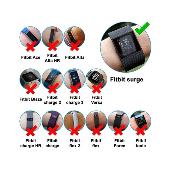USB Charger Cable Cord For Fitbit CHARGE 2//Alta//Blaze//Flex//Charge HR//Surge//Force