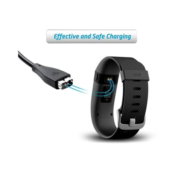 USB Replacement Charging Cable Cord Charger for Fitbit CHARGE 2 Smart Wristband