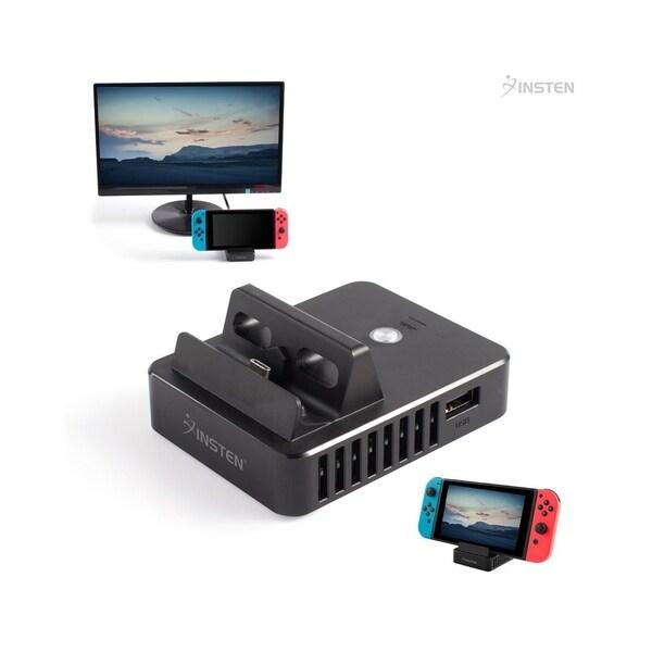 Shop INSTEN Portable Charging Dock for Nintendo Switch
