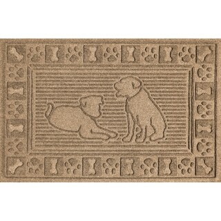 Two Labs 2x3 Doormat