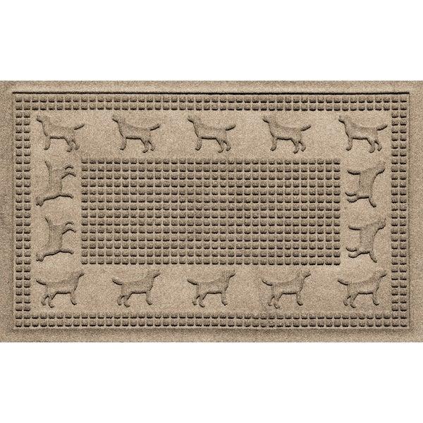 Lab Border 2x3 Doormat