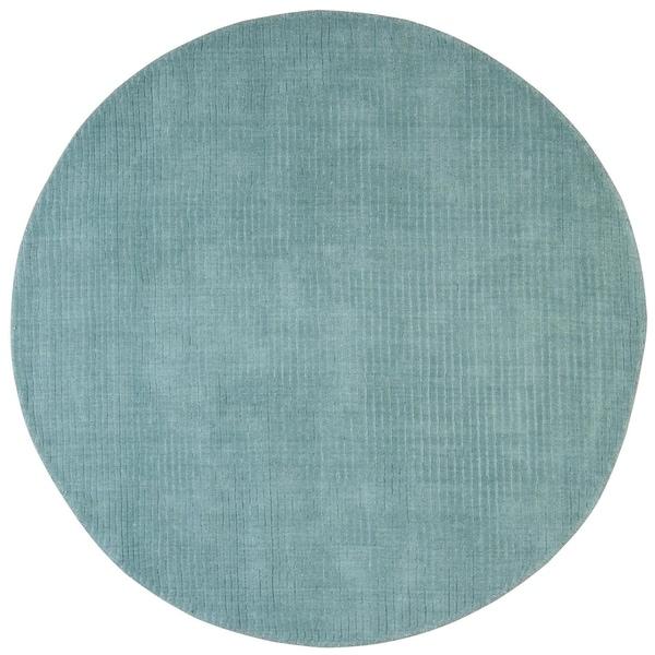 Aqua Pulse (6'x6') Round Rug - 6' x 6'