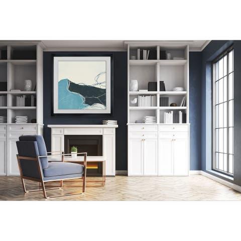 Blue Peaks II -Framed Giclee Print
