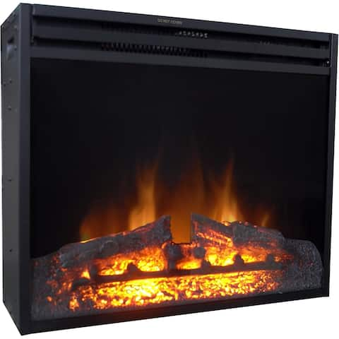 Cambridge 23-In. Freestanding 5116 BTU Electric Fireplace Insert with Remote Control