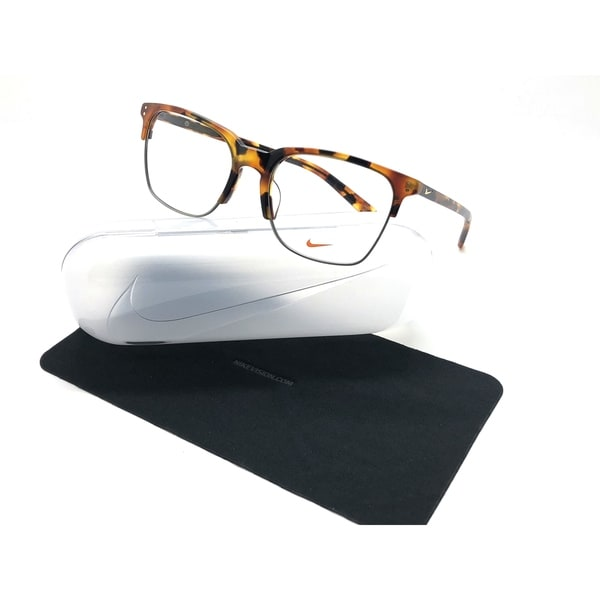 3de037b1f7fc Shop Nike Men's Eyeglasses 38KD 38/KD 210 Tokyo Tortoise Full Rim Optical  Frame 55mm - Free Shipping Today - Overstock - 24249676