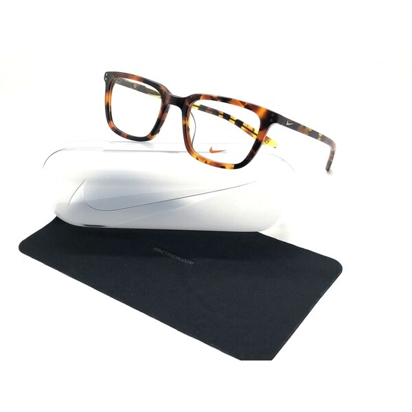 e093af1e31 Nike Men  x27 s Eyeglasses 37KD 210 Tokyo Tortoise Optical Frame 52mm