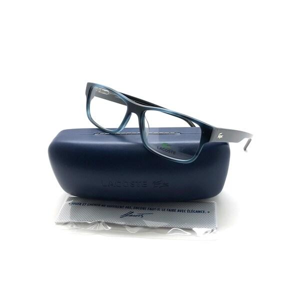 7612e598ff4 Shop NEW Lacoste L2660-215-5515 Blue Havana 53mm Eyeglasses - Free ...