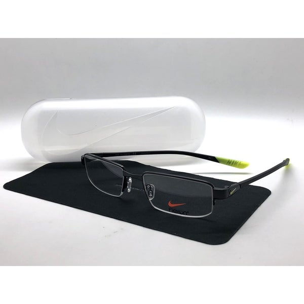 5065dbc3070 Shop Authentic Nike Semi Rimless Eyeglasses 4275 003 Black Frames ...