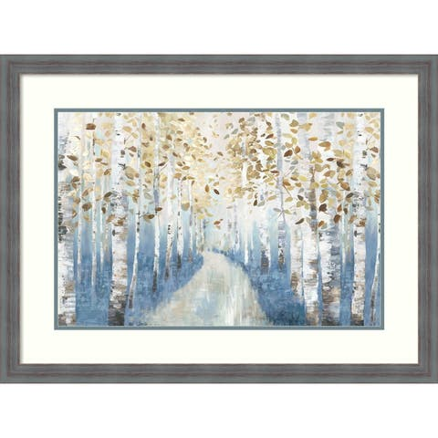 Framed Art Print 'New Path I' by Allison Pearce: Outer Size 32 x 24-inch