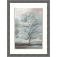 Framed Art Print 'Enchantments I' by Eva Watts: Outer Size 22 x 29-inch