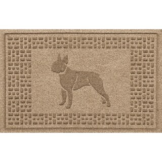 Boston Terrier 2x3 Doormat