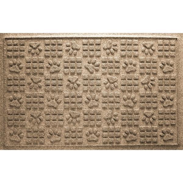 Aqua Shield Dog Paw Squares 2x3-foot PET Fiber Doormat. Opens flyout.