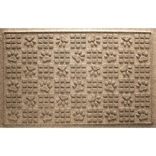 Dog Paw Squares 2x3 Doormat