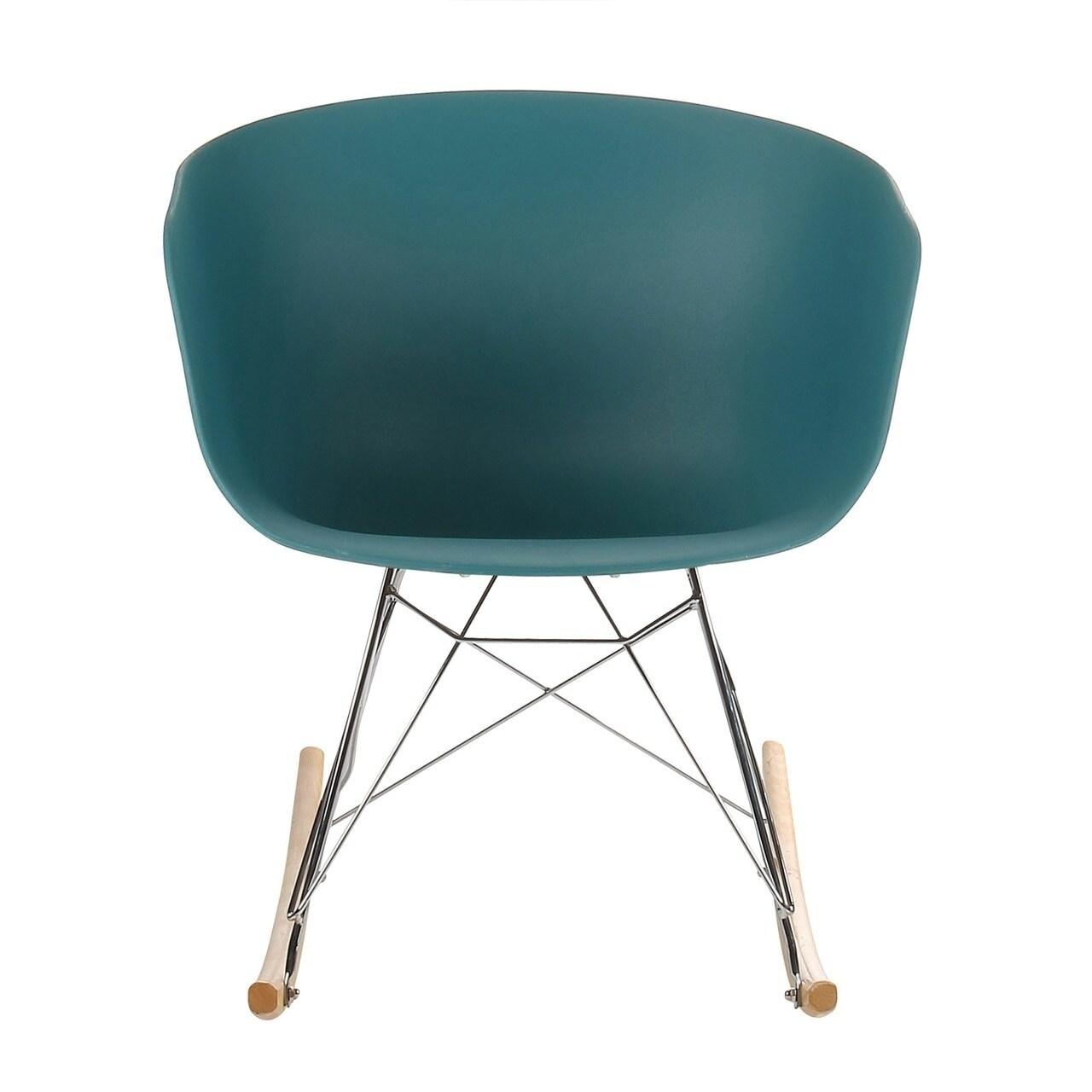 Danish Modern Rocking Chair On Sale Overstock 24249836