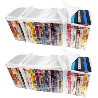 Evelots Portable DVD Storage Bags