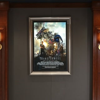 SoundRight 27x40 Frame Illuminated Backlit LED Light Box Display Home Theater Movie Posters Easy Front Snap Clips - N/A