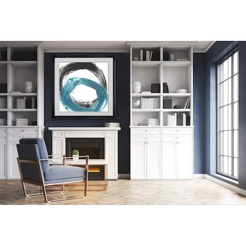 Circular Reaction IX -Framed Giclee Print