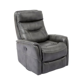 Colby Swivel Glider Power Recliner (Grey/ Beige/ Brown) (Manual/ Power)
