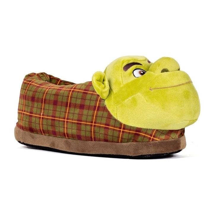Shop Dreamworks Shrek Slippers Happy Feet Mens And Womens Slippers On Sale Overstock 24250110
