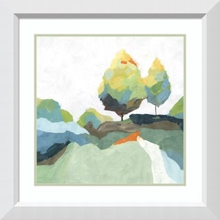 Framed Art Print 'Blocked I' by Isabelle Z: Outer Size 28 x 28-inch