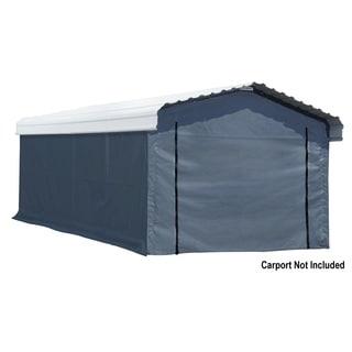 Enclosure Kit for Carport Grey